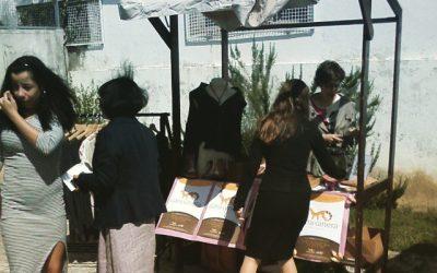 Gineta na Feira do Turismo da ESSM