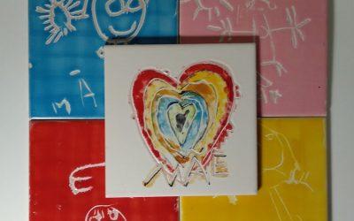 Feliz dia da Mãe com o Atelier Pintura de Azulejo