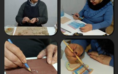 Aulas de artes para seniores na Sintricare
