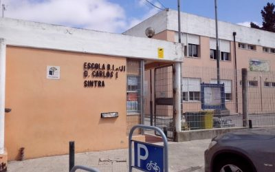 Gata-Gineta participa no Arraial da escola D. Carlos I
