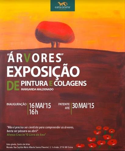 """Exposição """"Árvores"""" na Gata-Gineta"""